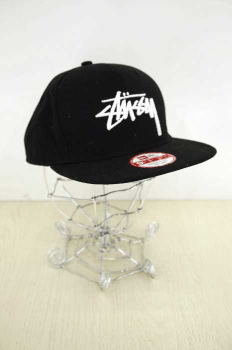 STUSSY×NEW ERA (ステューシー×ニューエラ) ロゴ メンズ 帽子