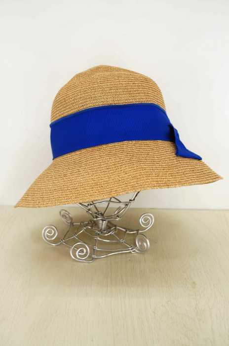 override(オーバーライド) リボン麦わら帽子 レディース 帽子