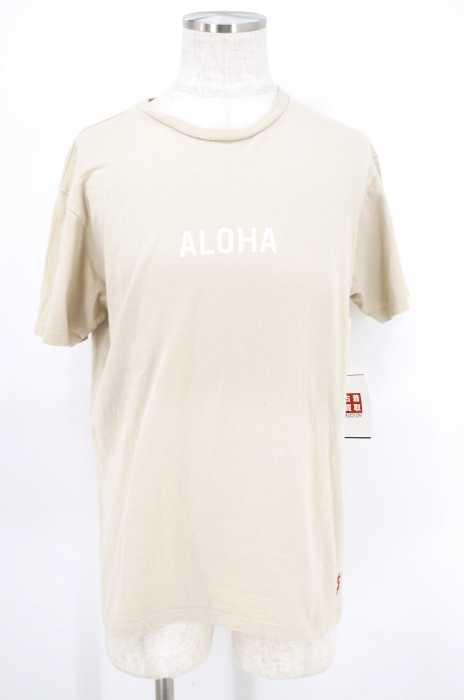 USED (ブランド不明) ALOHA プリントTシャツ メンズ トップス