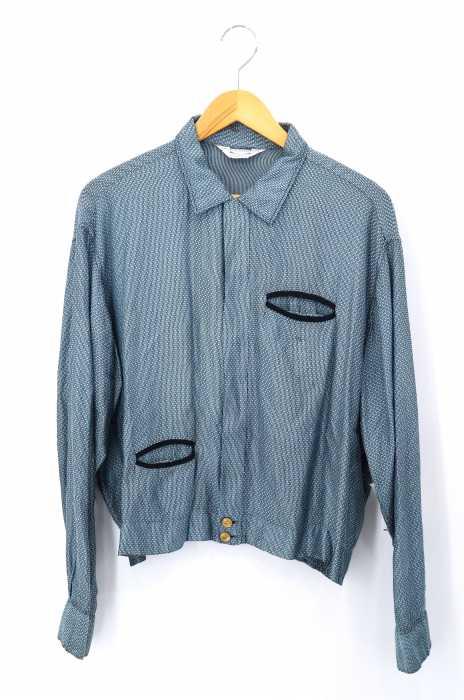 PILGRIM(ピルグリム) 50-60S レーヨンオープンカラーシャツ ブルゾン メンズ アウター