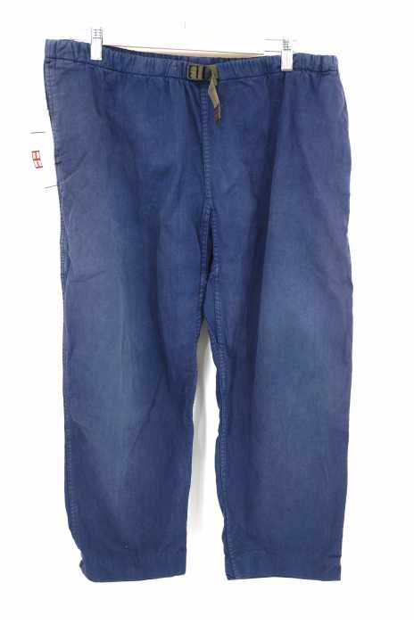 GRAMICCI (グラミチ) 80-90S ボックスロゴタグ ベルテッドクライミングパンツ メンズ パンツ