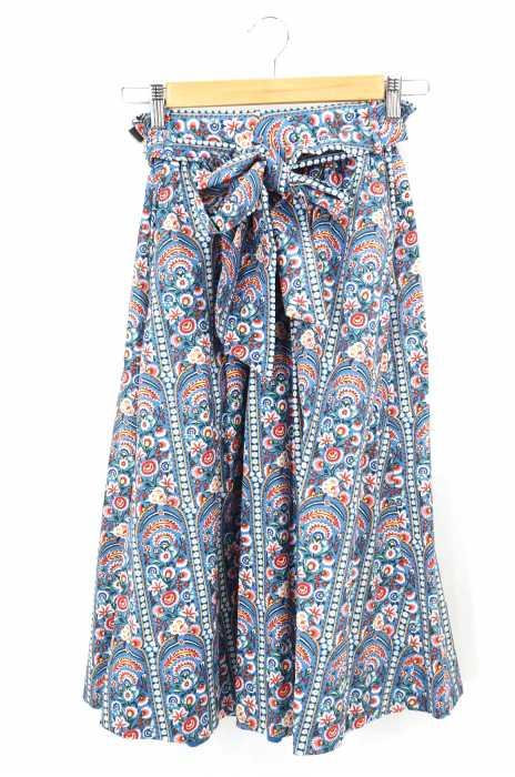 BEAMS BOY (ビームスボーイ) 花柄ギャザースカート レディース スカート