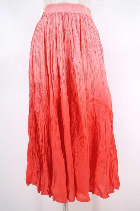 USED (ブランド不明) グラデーションイージーフレアスカート レディース スカート