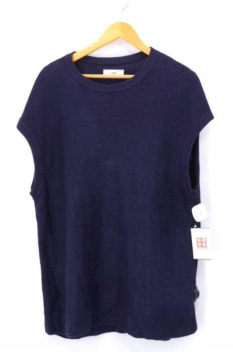 unfil(アンフィル) 19SS French Linen Honyecomb Knit Vest メンズ トップス