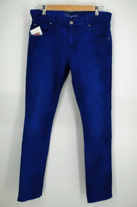 VANQUISH(ヴァンキッシュ) カラータイトフィットストレートパンツ メンズ パンツ