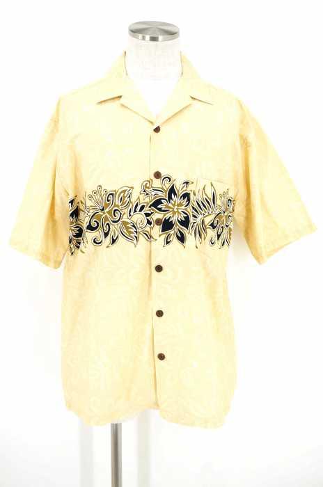 KoaRoad () 総柄オープンカラーシャツ 開襟シャツ メンズ トップス