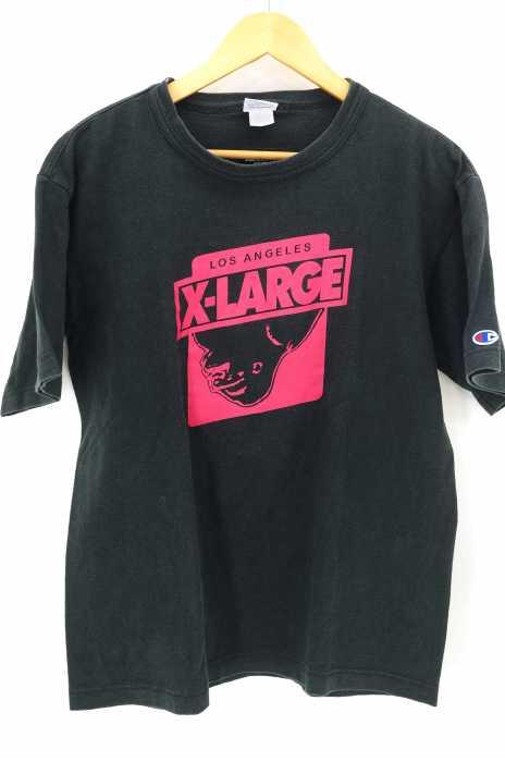 XLARGE×Champion(エクストララージ×チャンピオン) コラボTシャツ メンズ トップス