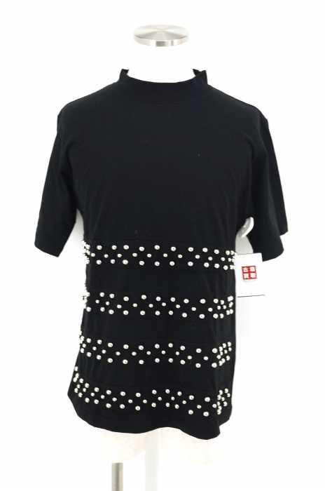 99%IS- (ナインティナインパーセントイズ) モックネック スタッズ装飾 メンズ トップス