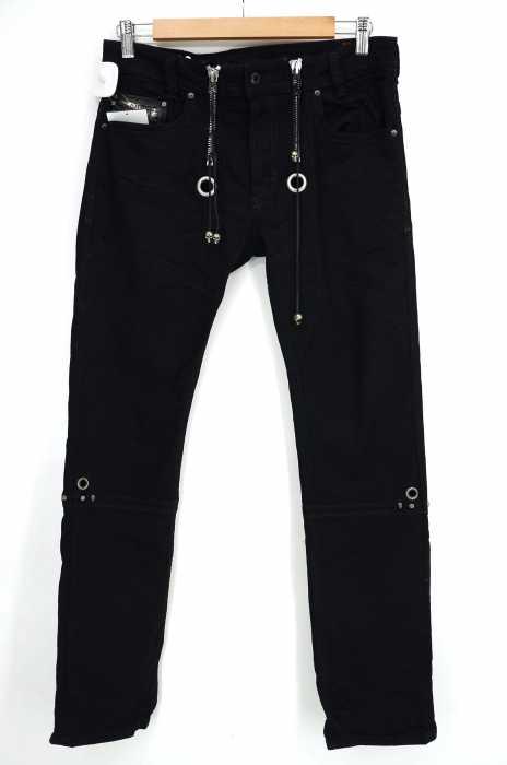 DIESEL (ディーゼル) 裾ZIP スキニー メンズ パンツ