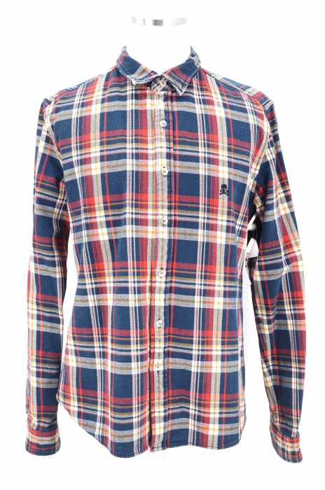 STOOGE&CO(ストーギー) チェック柄ワークシャツ メンズ トップス