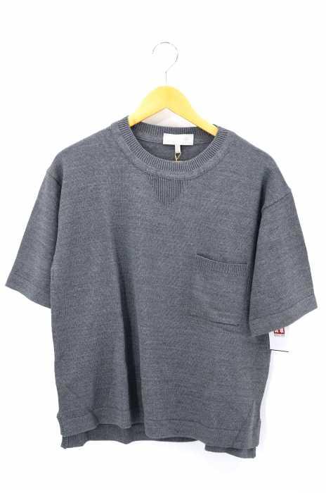 A(LefRUDE)E(アレフルード) リネン混 クルーネックTシャツ メンズ トップス
