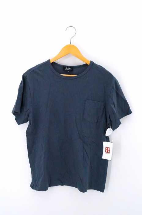 A.P.C. (アーペーセー) ポケットクルーネックTシャツ メンズ トップス