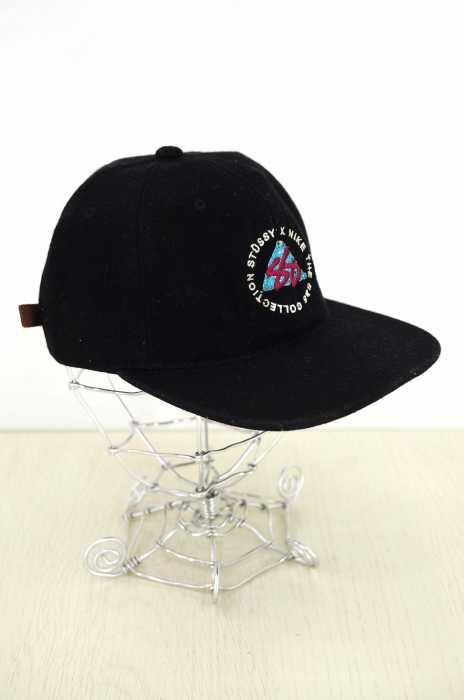 STUSSY×NIKE (ステューシー×ナイキ) S&S COLLECTION ウール混6パネルキャップ メンズ 帽子