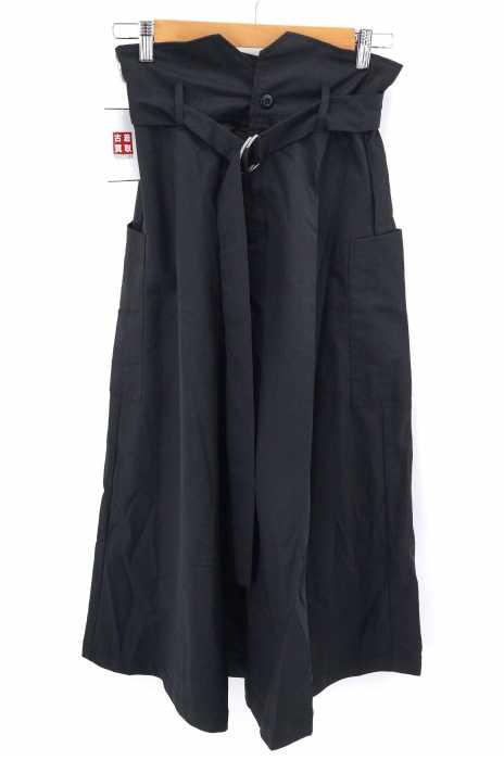JEANASIS (ジーナシス) ハイウエストベルト付きフレアスカート レディース スカート