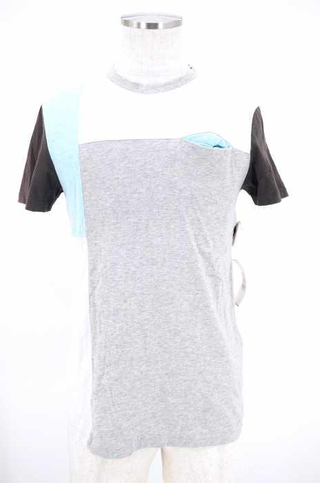 Levi's (リーバイス) カラーブロック ポケットTシャツ メンズ トップス