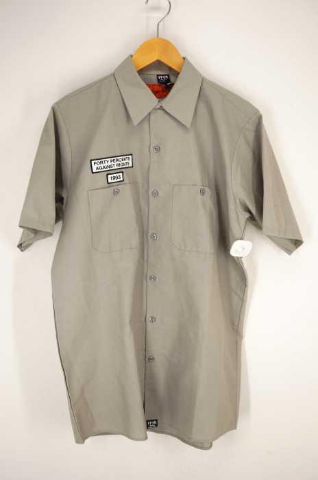 FPAR(フォーティーパーセントアゲインストライツ) ワークシャツ メンズ トップス