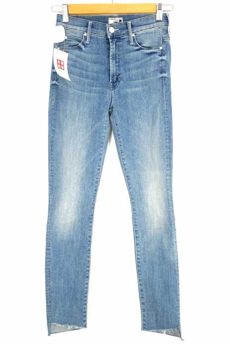 mother(マザー) The Stunner Zip Ankle Step Fray Jeans in Good Girls Do レディース パンツ