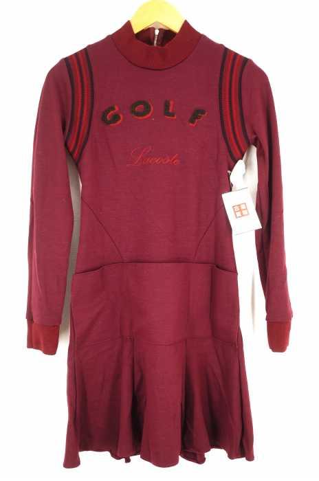 LACOSTE (ラコステ) Long Sleeve Golf Multi Pocket Dress レディース ワンピース