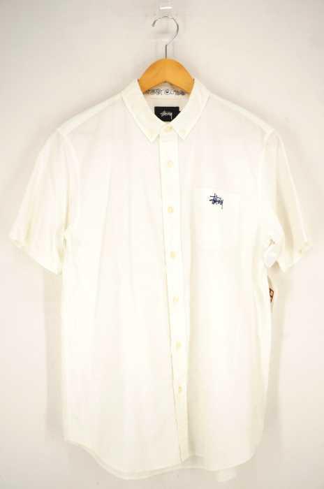 STUSSY (ステューシー) S/S ワンポイント刺繍BDシャツ メンズ トップス