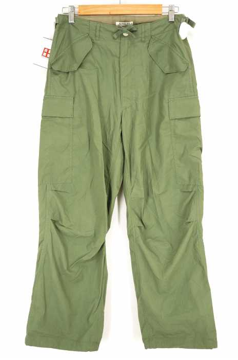 AURALEE (オーラリー) WASHED FINX RIPSTOP FIELD PANTS メンズ パンツ