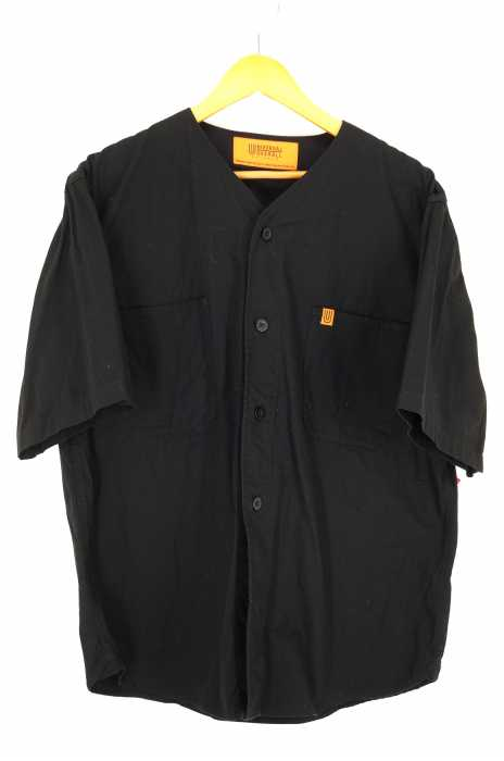 UNIVERSAL OVERALL (ユニバーサルオーバーオール) ノーカラーワークシャツ メンズ トップス