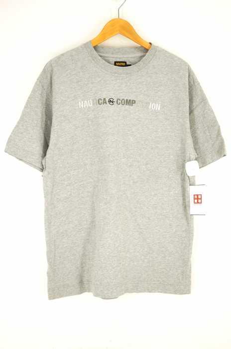 NAUTICA COMPETITION (ノーティカコンプレッション) クルーネック刺繍Tシャツ メンズ トップス