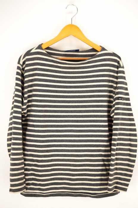 SAINT JAMES(セントジェームス) ボーダーバスクシャツ メンズ トップス