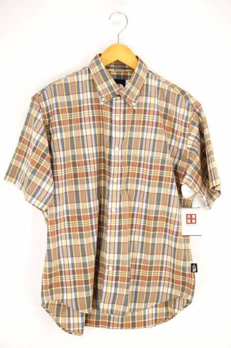 THE NORTH FACE (ザノースフェイス) 半袖チェック柄BDシャツ メンズ トップス