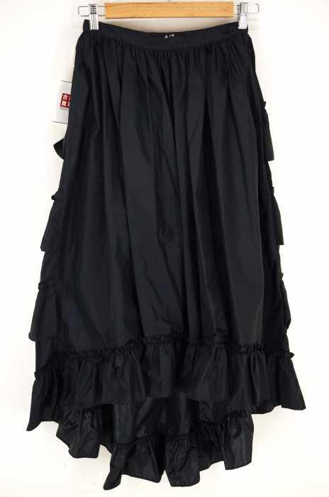 A/T(エーティー アツロウ タヤマ) バックティアードナイロンロングスカート レディース スカート