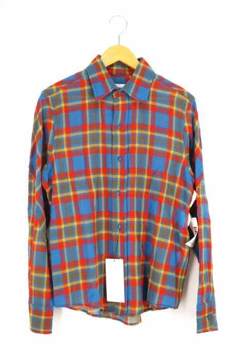 FACETASM (ファセッタズム) カットオフビッグシャツ メンズ トップス