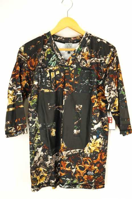 DUPPIES(ダッピーズ) CAMOUFLAGE PLAYERS V NECK メンズ トップス