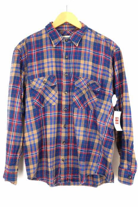 MOLLUSK(モラスク) ネルシャツ メンズ トップス