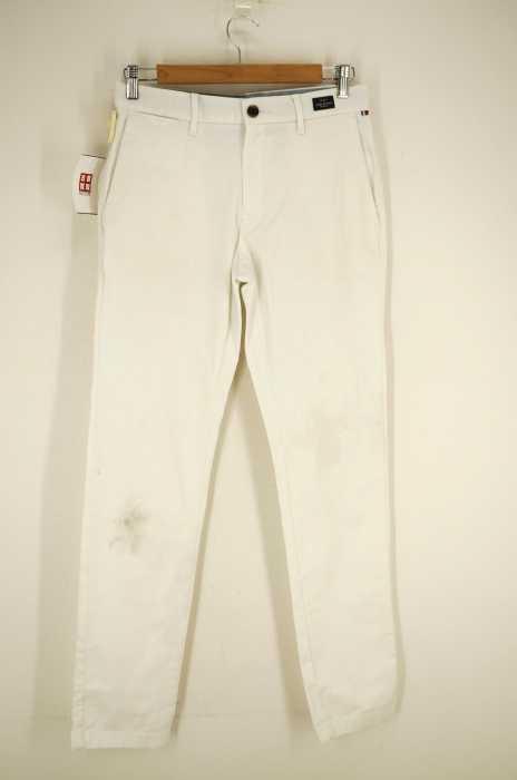 TOMMY HILFIGER (トミーヒルフィガー) バックブランドロゴ刺繍パンツ メンズ パンツ