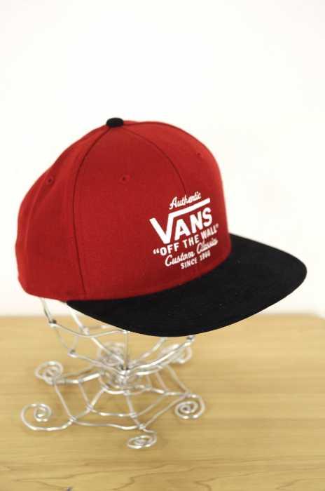 VANS (バンズ ) ロゴ刺繍キャップ メンズ 帽子