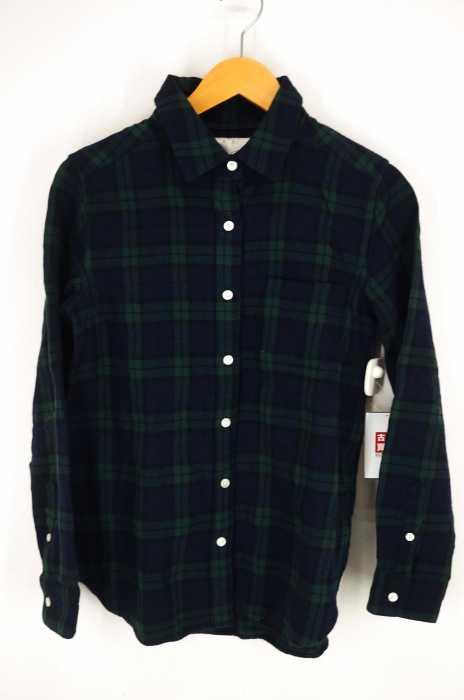 UNITED ARROWS style for living(ユナイテッドアローズスタイルフォーリビング) フランネルシャツ SFL チェックシャツ ブラックウォッチ レディース トップス