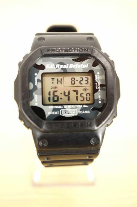 G-SHOCK × FC Real Bristol (ジーショック エフシーレアルブリストル) DW-5600VT メンズ 腕時計