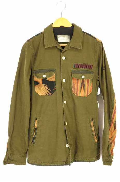 SCOTCH&SODA(スコッチアンドソーダ) Mixed Shirt Jacket メンズ アウター