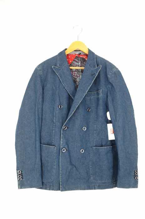 L.B.M.1911(エルビーエム1911) FLY JACKET ウォッシュドデニムダブルブレストジャケット メンズ アウター