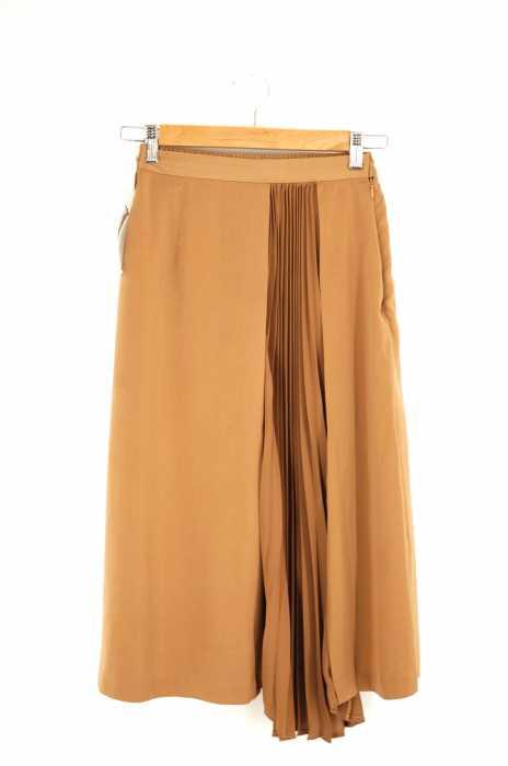 MICOAMERI(ミコアメリ) ランダムプリーツフレアスカート レディース スカート