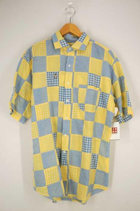 A BATHING APE baby milo store (アベイシングエイプ) パッチワークシャツ メンズ トップス