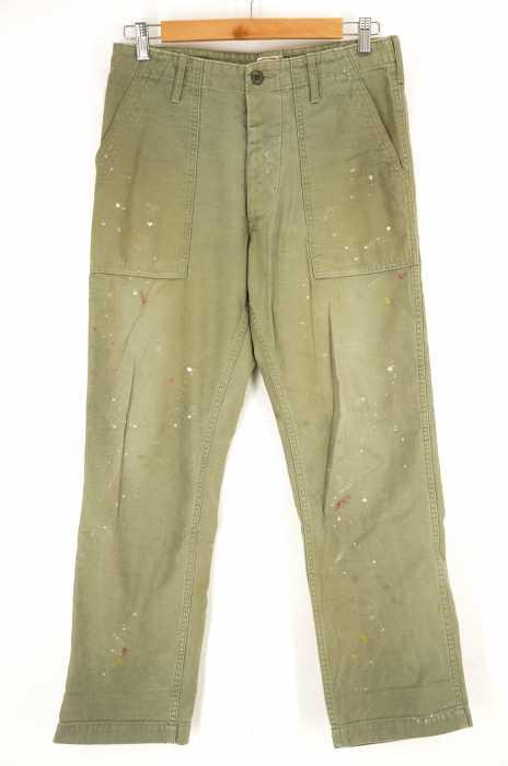COOTIE(クーティー) ペンキ加工ベイカーパンツ メンズ パンツ