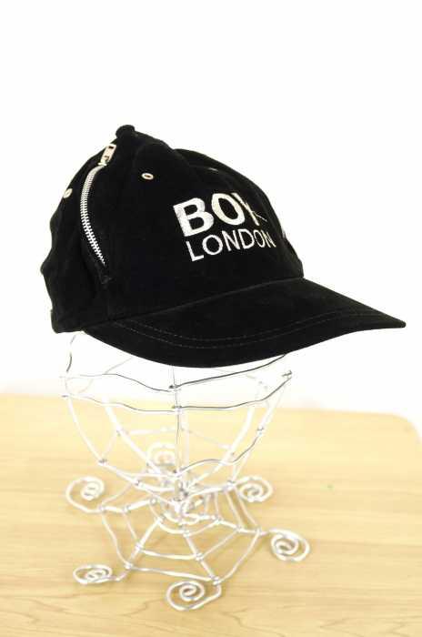 BOY LONDON(ボーイロンドン) ジップデザインスエードキャップ メンズ 帽子