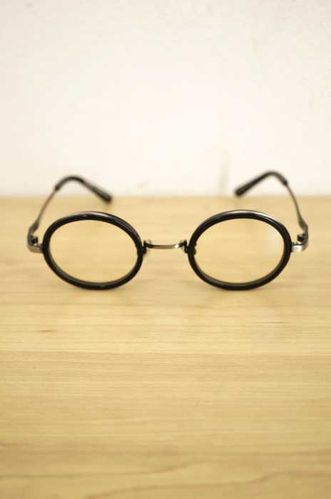 TAKEO KIKUCHI(タケオキクチ) セル巻きラウンド型メガネ メンズ ファッション雑貨