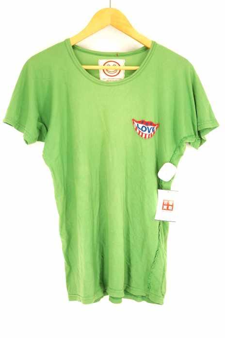 A LOVE MOVEMENT(ア ラブムーブメント) 胸ワッペン Tシャツ メンズ トップス