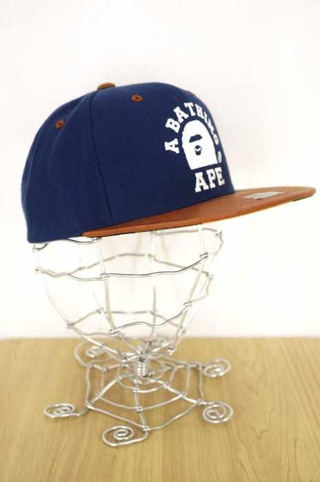 A BATHING APE × STARTER(アベイシングエイプ スターター) 1ST CAMO SNAPBACK メンズ 帽子
