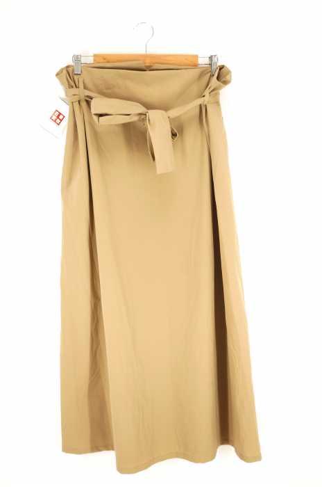 KBF (ケイビーエフ) ウエストベルトロングスカート レディース スカート