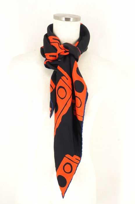 kinloch(キンロック) シルク スカーフ レディース ファッション雑貨