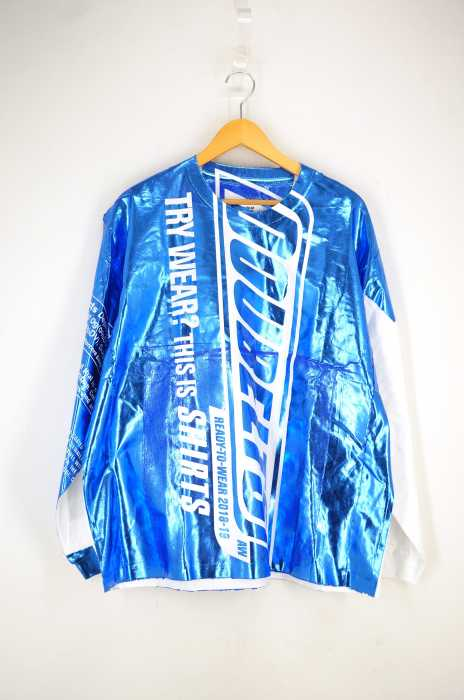 doublet(ダブレット) SNACK FOIL PACKAGE LONG SLEEVE T-SHIRT メンズ トップス