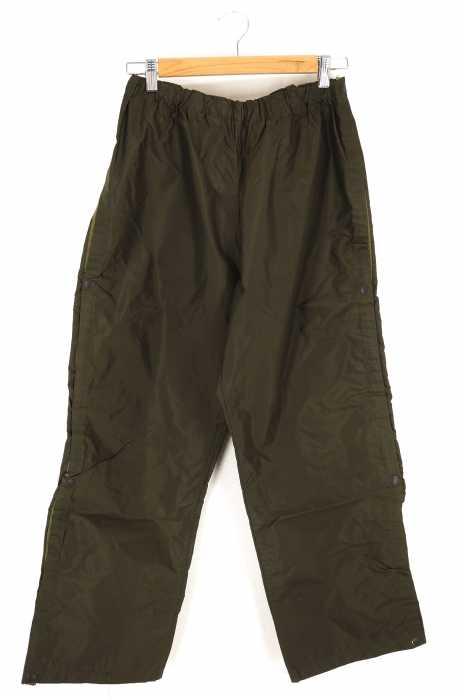 USED古着  (ユーズドフルギ) vintage 86年製 イタリア軍 レインパンツ サイドスナップボタン メンズ パンツ