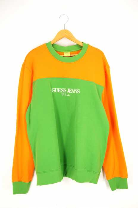 Sean Wotherspoon x Guess Jeans(ショーンワザーズプーン ゲスジーンズ) Color Blocked Sweat カラーブロックスウェット メンズ トップス